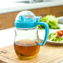 цена на BF050 The kitchen multifunctional oil 550ML. large capacity oil bottle with cover glass pot health 17*9cm free shipping