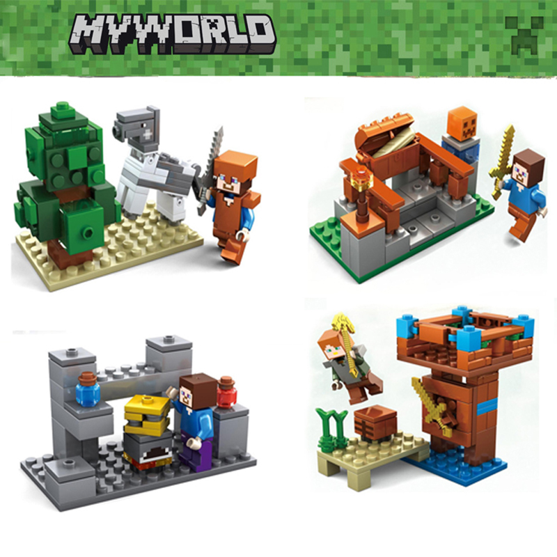 KAZI 225 My World Mini Building Blocks educational toys