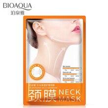 BIOAQUA Антивозрастная маска для шеи против морщин Уход За Кожей Отбеливающий питательный Лучший Крем для шеи подтяжка кожи шеи