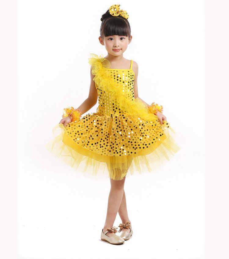 ... Children Kids Ballet Latin Dancewear Stage Dancing Clothing Dance  Costume Child Latin Ballet Dance Dress For ... b874bd39a6eb