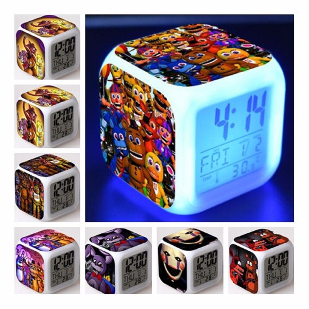 Independent Doctor Strange Figures Led Alarm Clock Colorful Flash Night Light Movie Figurine Desk Watch Toys For Children Back To Search Resultstoys & Hobbies