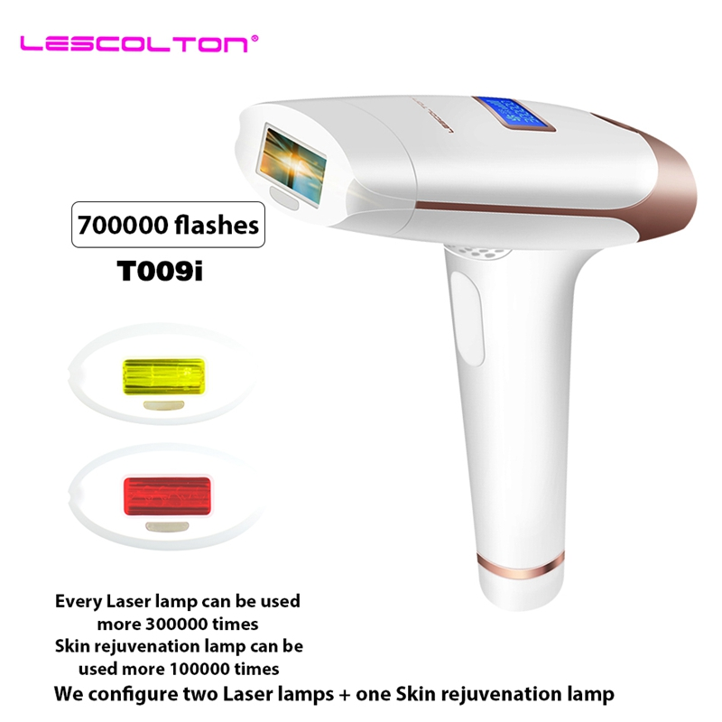 Lescolton 3in1 700000 pulsée IPL Laser Dispositif D'épilation Épilation Permanente IPL laser Épilateur Aisselle Épilation machine