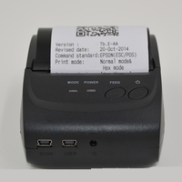 1piece 58mm Mini Portable Bluetooth Wireless Receipt Thermal Printer for Android PC