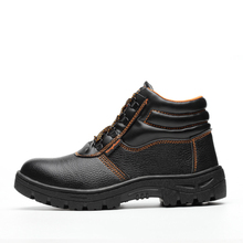 ZYYZYM Steel Toe Shoes Men Safety Work Boots Autumn Winter High Style Men Work Safety Shoes Anti-piercing Protection Footwear