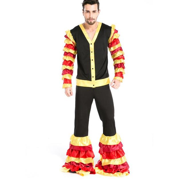 New Arrival Cool long sleeves Ruffles Cosplay passionate Samba Hawaii Halloween Costume Party Men Masquerade wear  sc 1 st  AliExpress.com & New Arrival Cool long sleeves Ruffles Cosplay passionate Samba ...