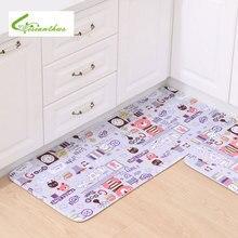 Cute Cartoon Bear Carpet Suit for Children's Bedroom Living Room Rugs Absorption Non-Slip Kitchen Carpet Bathroom Floor Mats