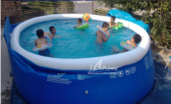 Super Large Family Adult Butterfly Inflatable Swimming Pool Infants Baby Forming Pool In