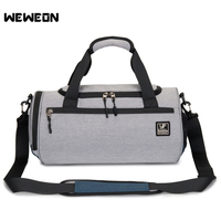 Gym Bag Sports Bag With Shoes Compartment Men Travel Sports Duffel Waterproof Fitness Training Bag Cylinder