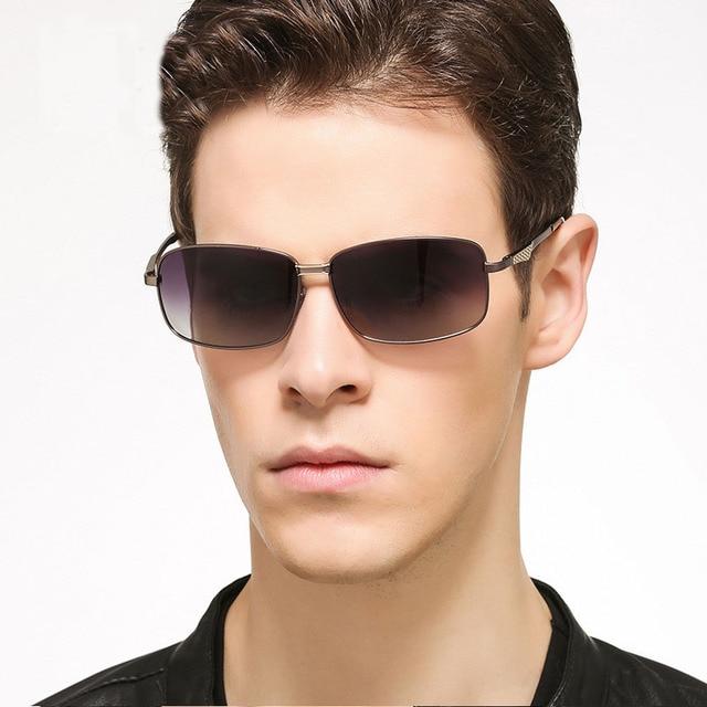 6ca6041da Óculos steampunk Homens Carter Famoso designer Da Marca de Óculos De Sol  Polarizado Masculino óculos de