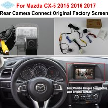 цена на For Mazda CX-5 CX 5 CX5 2015 2016 / RCA & Original Screen Compatible / Car Rear View Camera / Back Up Reverse Camera Sets