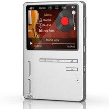 Original ONN X6 8 GB de Metal Sin Pérdidas de Música MP3 HiFi 24bit/192 KHZ Altavoz Contrabajo Pantalla TFT APE/FLAC/WAV/WMA/OGG/MP3