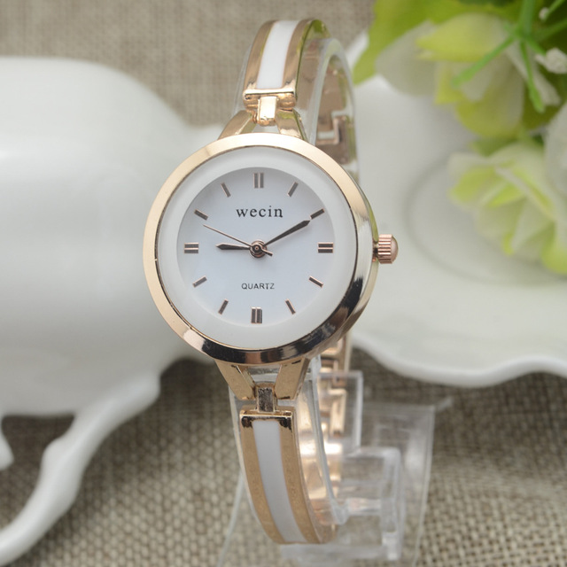 2018 New Luxury Wecin Brand Girl Gift Bracelet Watch Fashion Clock Ladies Studen