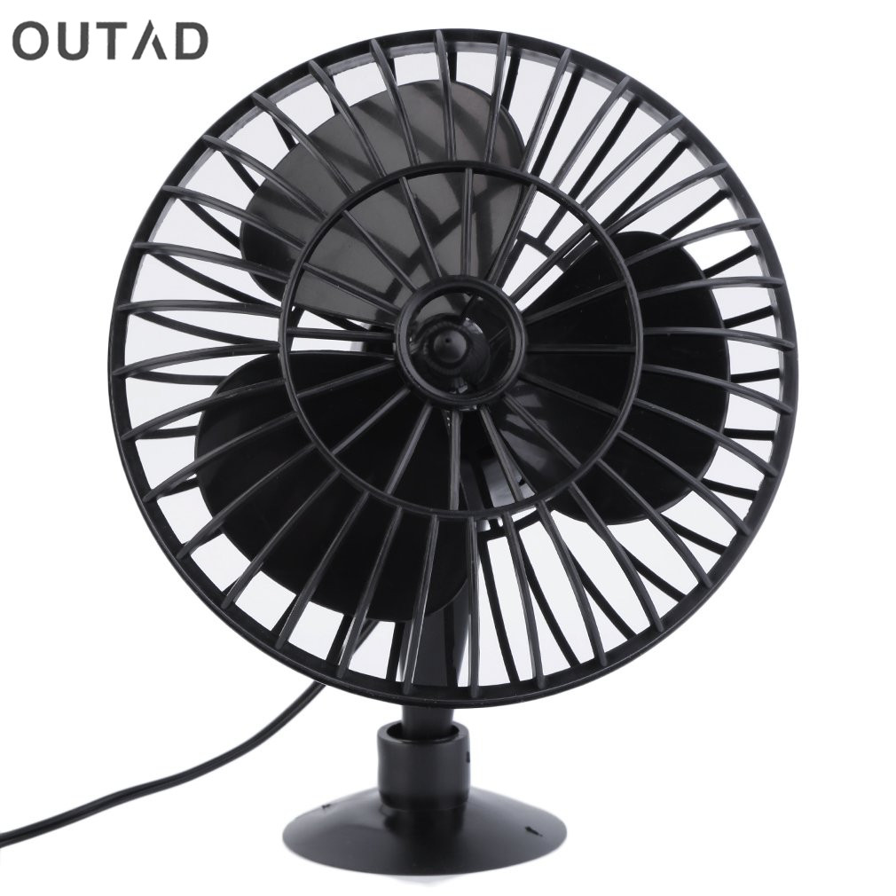 Creative Micro USB Fan For car Portable Mini Fan Mini 12V 4 Inch Summer Mini Air Fan Car Vehicle Cooling Suction Cup Adsorption купить в Москве 2019