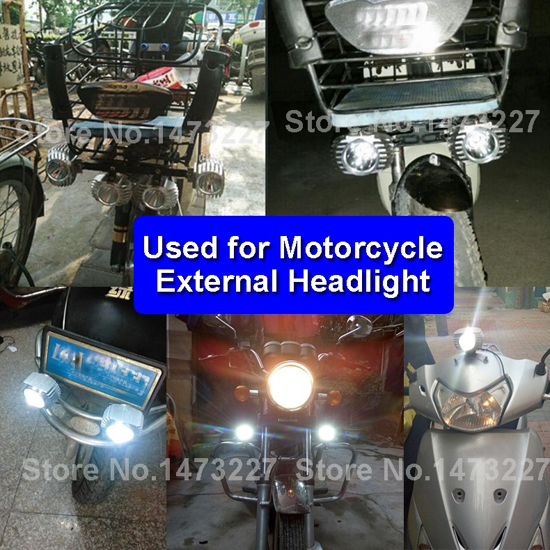 LED DC 8-85V Motorbike Motorcycle External Headlight Fog DRL Lamp Bulb Light Scooter ATV Bike High Quality For Driving Hunting (9)