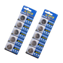 5pcs/set CR 2032 3V CR2032 Lithium Button Cell Coin Battery for Watches Clocks Calculators Motherboards 2032 battery NKDC015