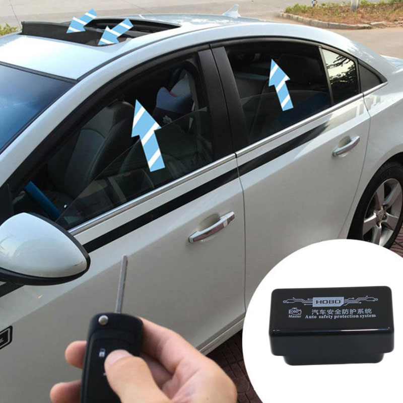 Vehemo OBD Auto Window Closer Vehicle Glass Door Sunroof Opening Closing Module