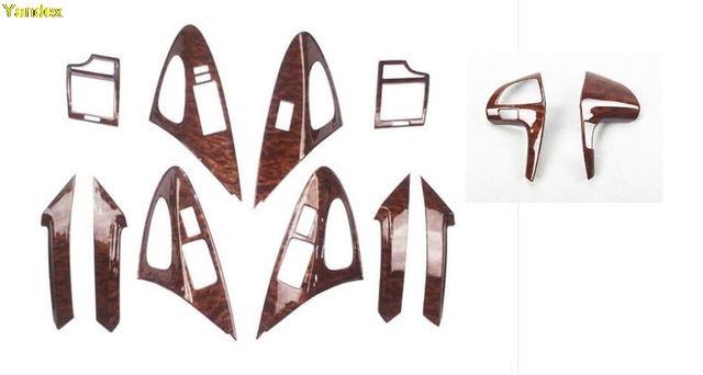 Yandex HighQuality Mahogany Cherry Wood Interior Trim Special Modified Car  Parts Accessories For Toyota Camry 04