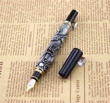 0.5mm ปากกาประณีต ปากกาโลหะคุณภาพสูงธุรกิจสำนักงานหมึกปากกาวันเกิดของขวัญ dragon