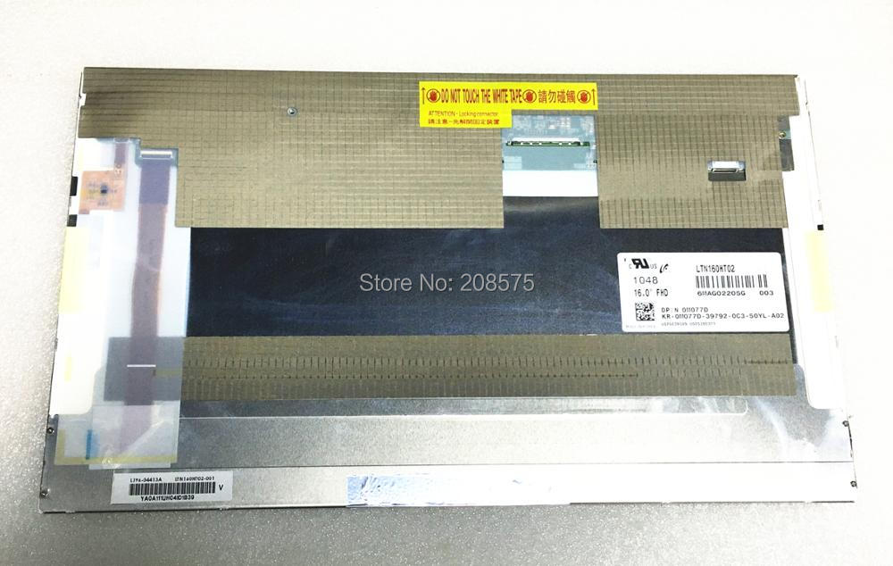 Free Shipping LTN160HT02 003 Laptop LCD Display screen 1920*1080 LVDS 50 pins FullHD LED screen free shipping ba101ws1 100 ba101ws1 b101aw06 v 1 n101l6 l0d ltn101nt08 10 1inch led display laptop screen