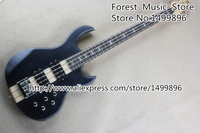 Hot Selling Neck Through Bass Guitars Chinese 4 String Chrome Hardware Bass Guitar Free Shipping