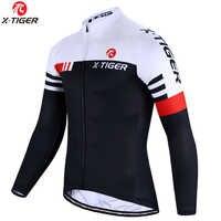 X-TIGER Top Qualität Radfahren Jersey Langarm MTB Fahrrad Radfahren Mountain Bike Sport Radfahren Kleidung