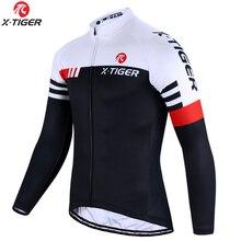 X TIGER أعلى جودة الدراجات جيرسي طويلة الأكمام دراجة الجبلية الدراجات الملابس الجبلية دراجة رياضية الدراجات الملابس