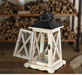 Wooden glass lantern indoor soft portable lantern decoration household gift