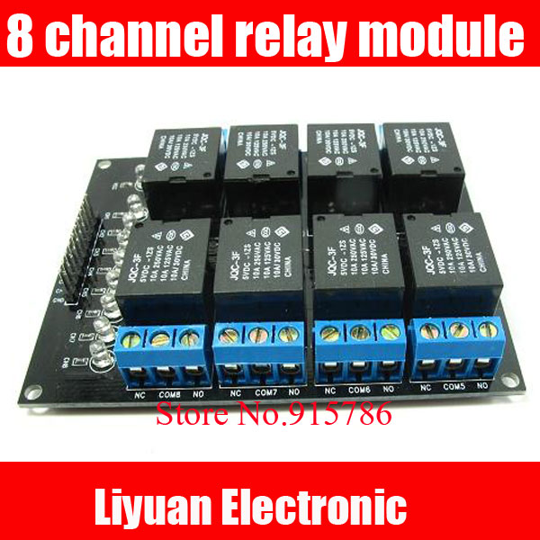 scm 8 channel relay sensor module 8 way relay expansion board rh aliexpress com Current Relay with Capacitor Current Sensing Relay