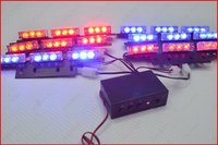 1 Set LED Flash Light Strobe Light LED Lamp Two Color Conversion 54 LED LIGHT 51036
