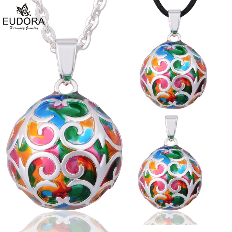 2018 Speical Design Angel Caller Prengnacy Ball Vedhæng Maternity Smykker 22mm Eudora Harmony Ball Belly Bola Chime Pendants