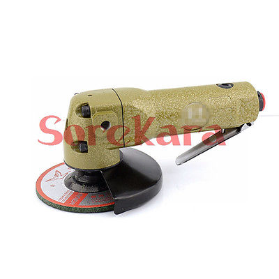 4 100mm Air Angle Grinder Polisher Handle Cutter Wheel Metal 11000RPM Pneumatic Tool 110mm inner diameter electric angle grinder wheel safety guard protector cover