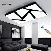 Новый акриловый светодио дный современный светодиодный потолочный светильник для гостиной спальни Plafon светодио дный Домашнее освещение п
