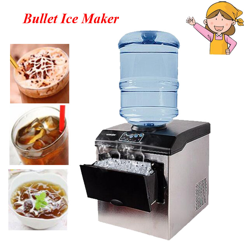 Electric Commercial Household Ice Making Machine 25kg