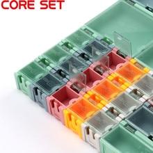 Мини-ящик для хранения SMD SMT электронный компонент ИС Контейнер Коробка Чехол Diy практичный для небольших компонентов ящик для ювелирных инструментов шарик таблетки