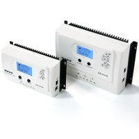 12V 24V Automatic MPPT 15A 20A 30A 40A 50A Solar Charge Controller With Big Backlight LCD