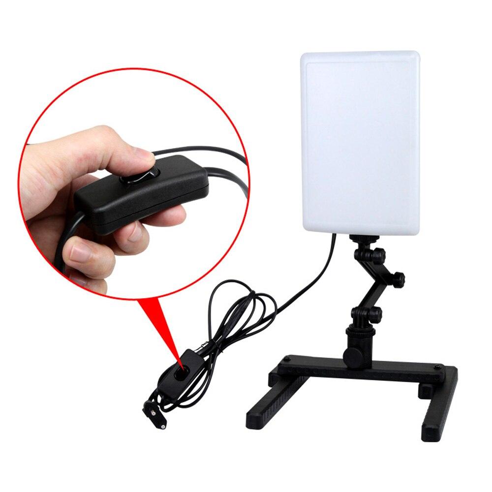 NanGuang LED lampe de lumière de Photo CN T96 2 Kit 220 V éclairage photographique avec Mini Table de tir et Kit de papier de fond