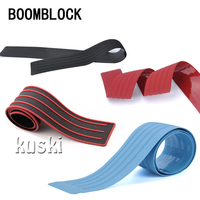 BOOMBLOCK Car Styling Rear Door Protect Trim Cover Stickers For Mazda 3 6 Toyota Avensis C