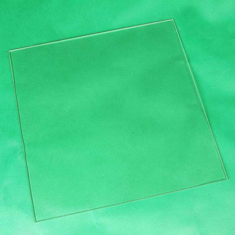 3d Printer Parts e Accessories vidro borosilicato cama aquecimento Modelo Número : 300*300*3mm Borosilicate Glass Heating Bed