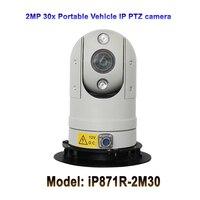 Vender 1080P 30x Zoom óptico Anti vibración móvil Mini portátil 2 0MP IP PTZ cámara de vigilancia