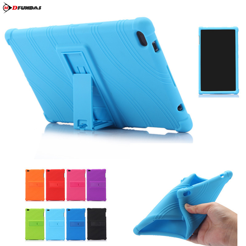 MDFUNDAS TPU Shockproof Durable Cover For Lenovo Tab 4 8 Case TB-8504F TB-8504N Tablet Shell With Stand For Lenovo Tab4 8 magnet case for lenovo tab4 8 tb 8504f tb 8504n tb 8504x cover tablet folding stand pu leather case for lenovo tab 4 8 8 0 inch