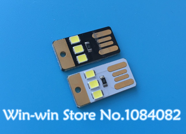 Integrated Circuits Hearty 10pcs Black Led Lamp Bulb Keychain Pocket Card Mini Led Night Light Portable Usb Power Electronic Components & Supplies