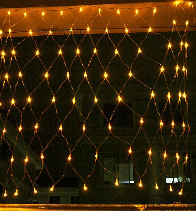 220v 1 5 5m 96l Led Net Lights String