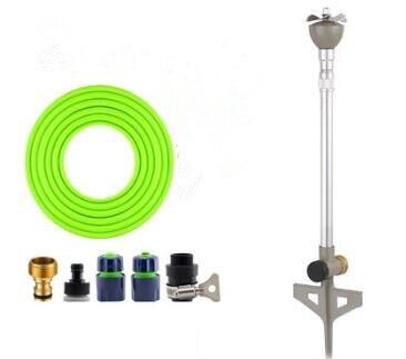 20m 1/2'' PVC hose set with ABS plastic connector for Propeller sprinkler height adjustable irrigation sprinkler