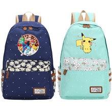 ed4f1116e5f9 Pokemon Gengar Cosplay Backpacks for teenager School Bags Teenager Girls  Boys Mochila Anime Luminous Printing Backpack