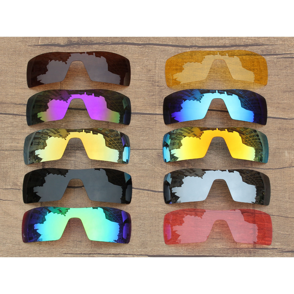 Vonxyz 20+ Color Choices Polarized Replacement Lenses For-Oakley Oil Rig Frame
