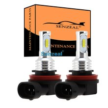 цена на 2pcs CSP H8 LED Car Fog Light H11 Daytime Running Lamp H9 72W H10 DRL Car Light 12-24V Led Car Auto Reverse Lamp Super Bright