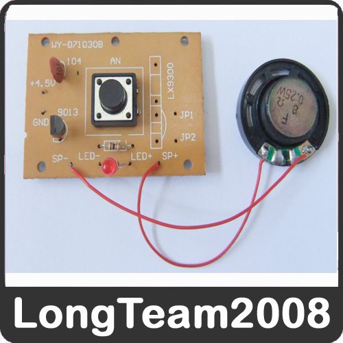 New DIY Electronic Learning Doorbell Kit PCB SZSP11