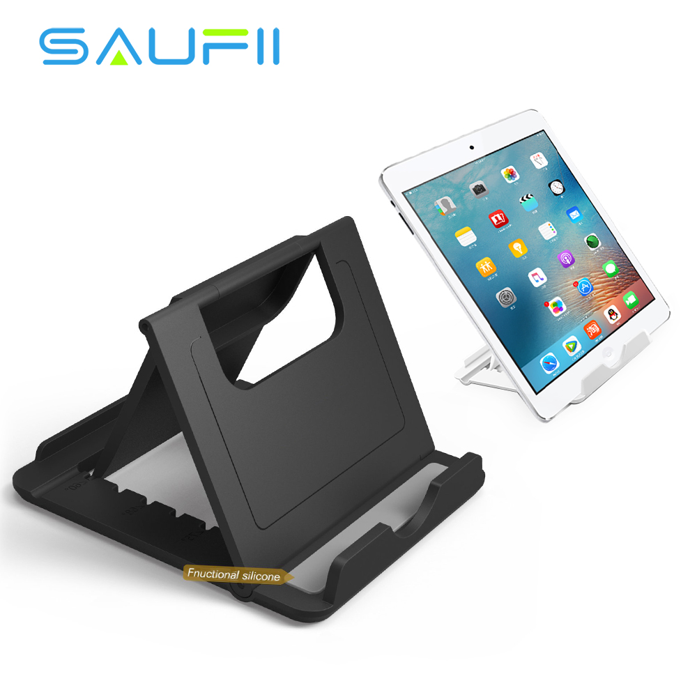 SAUFII Foldable Phone Holder Universal Desk Multi-angle Stand For iPad iPhone 7 Tablet for Xiaomi mi5 Samsung HTC phone Holder