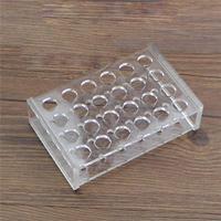 14mm Diam 24 Löcher Methylmethacrylat Rack Stehen Für 5ml Zentrifuge Rohre Labor-Klemme    -