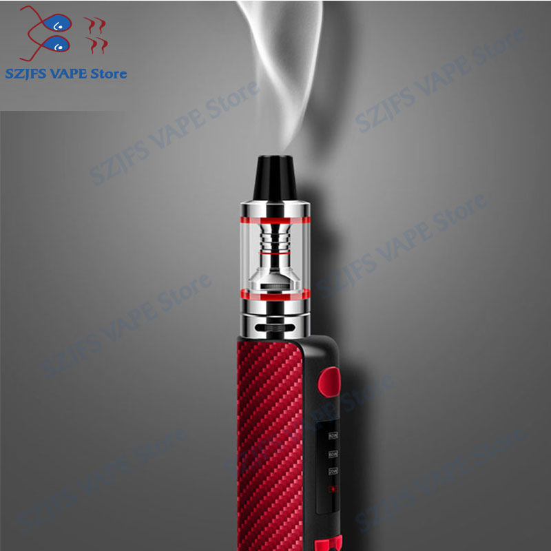 New TXW 80w Electronic Cigarette Vape Box 2200mAh Built-in Battery With LED Huge Vaporizer Vapor 2.5ml Atomizer E Cigarette Vape